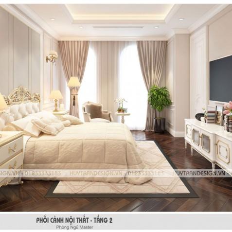 3 lưu ý khi thiết kế nội thất phòng ngủ biệt thự Vinhomes The Harmony