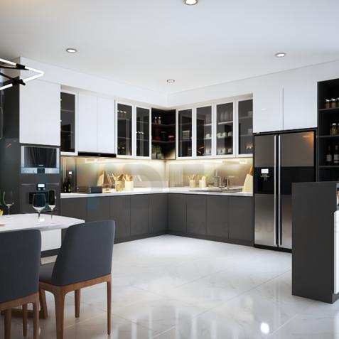 Nguyên tắc phong thủy khi thiết kế nhà bếp