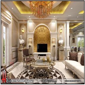 Thiết kế nội thất biệt thự nhà anh Tình - Pháp Vân
