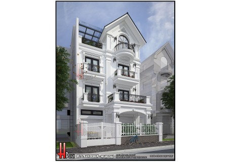 Cải tạo biệt thự tại Việt Hưng - biệt thự 4.5 tầng nhà anh Tú (KĐT Việt Hưng)