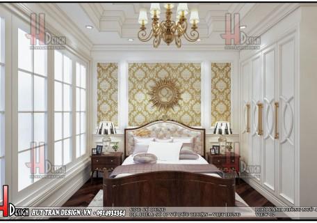 Mẫu thiết kế nội thất tân cổ điển nhà phố kết hợp kinh doanh - cô Dung