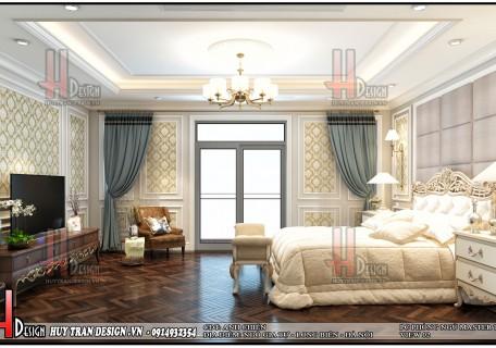 Mẫu thiết kế nội thất tân cổ điển nhà Anh Chiến