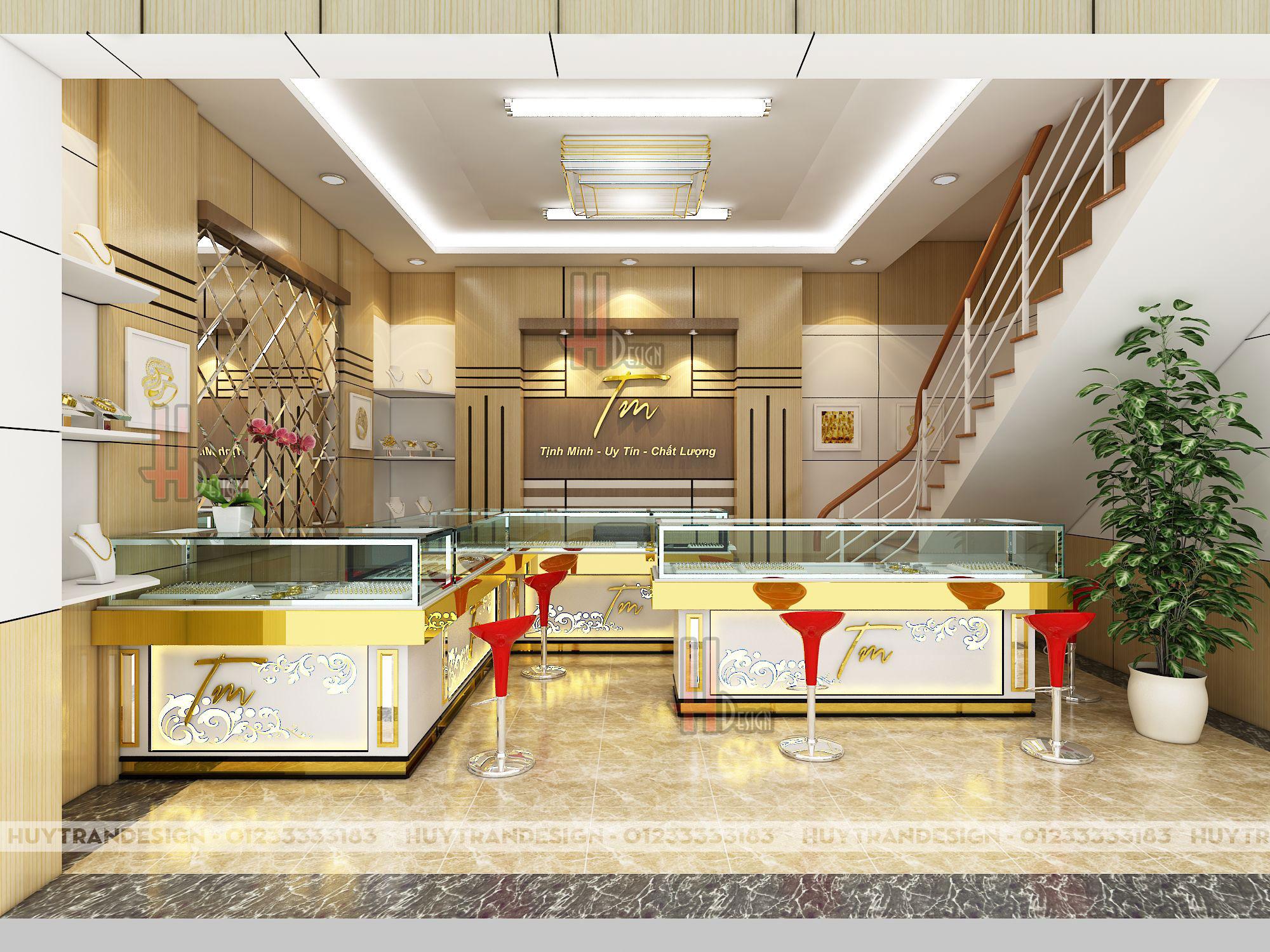 Mẫu thiết kế tiệm vàng - Tịnh Minh Nam Định