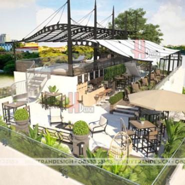 Mẫu thiết kế không gian Sky Bar Hàng Bông – Thiết kế nội thất hiện đại