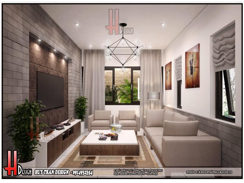 Mẫu thiết kế nội thất hiện đại - Anh Dũng