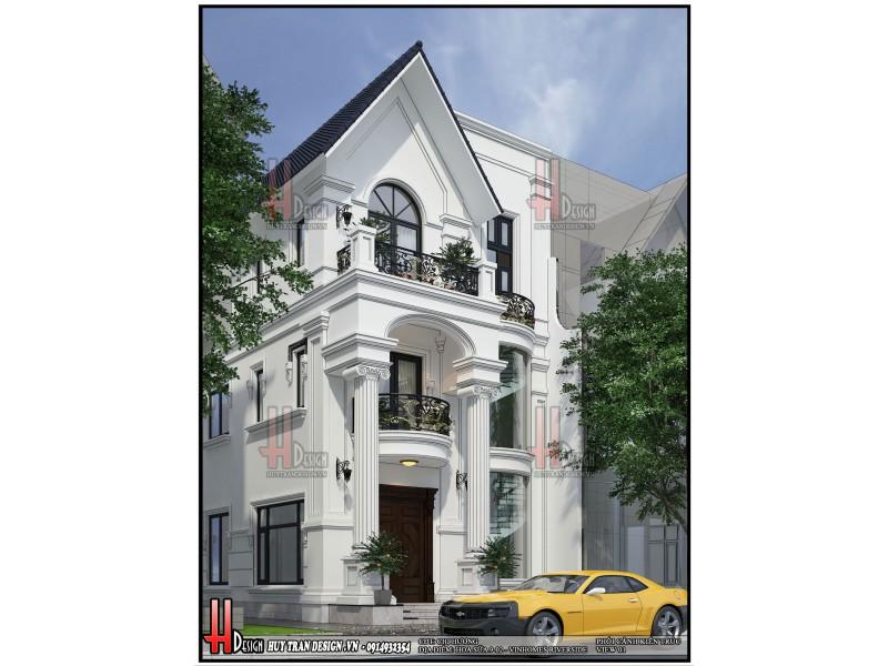 Mẫu biệt thự 3 tầng-Cải tạo biệt thự vinhomes Riverside