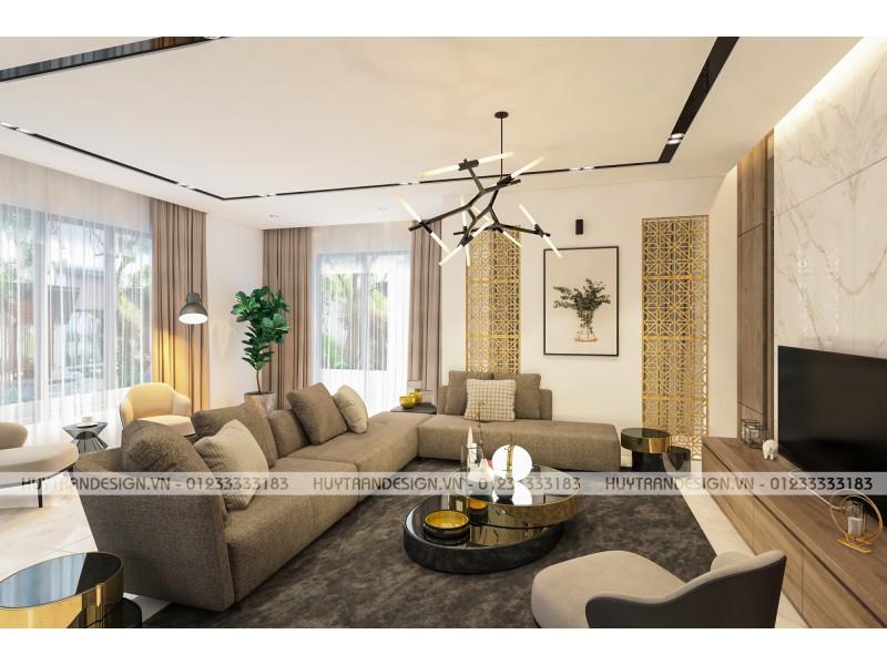 Mẫu thiết kế nội thất hiện đại biệt thự Hoa Sữa, Vinhomes Riverside