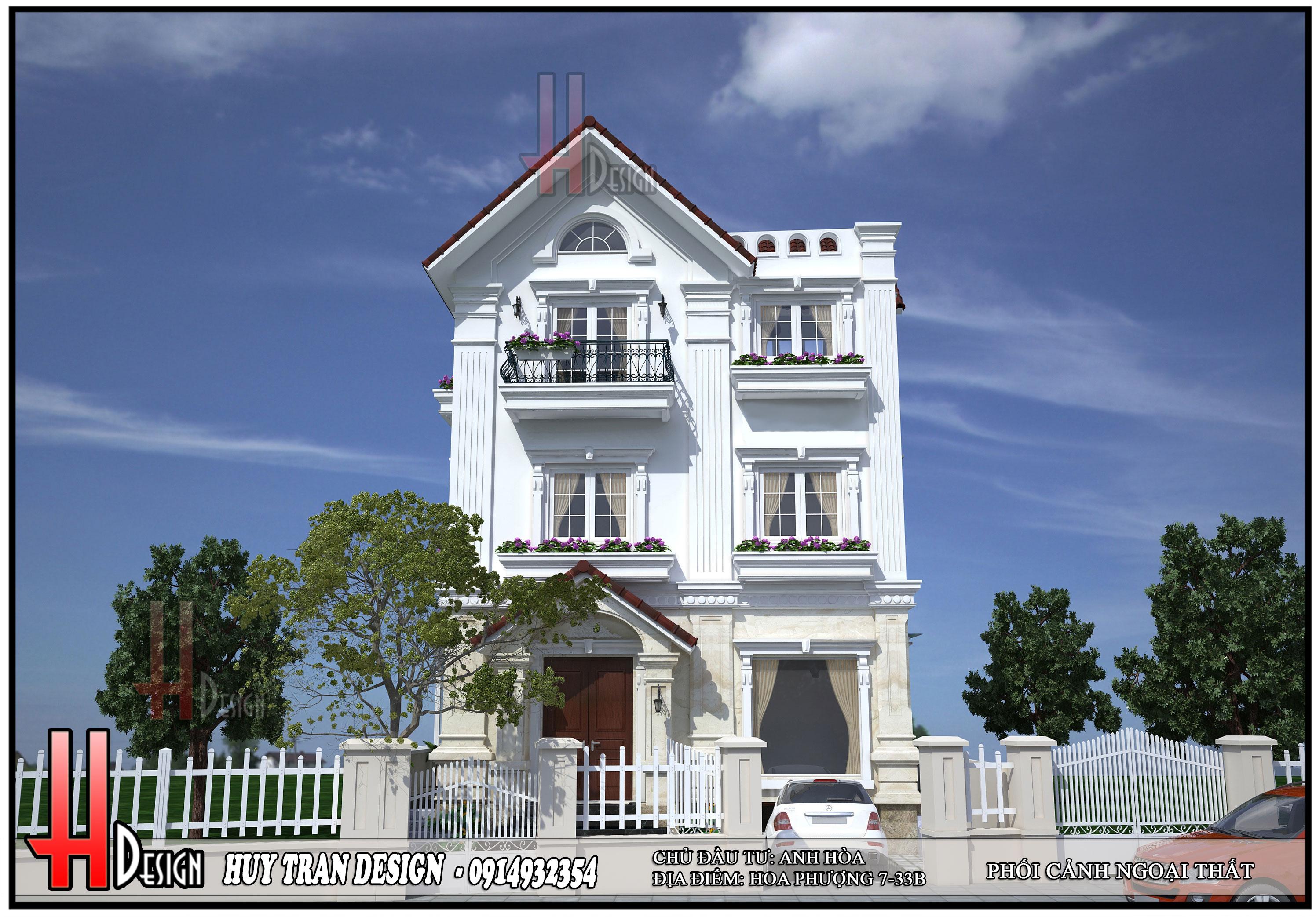 Cải tạo biệt thự Vinhomes - Cải tạo biệt thự Hoa Phượng 7-33- Biệt Thự Vinhomes Riverside Long Biên