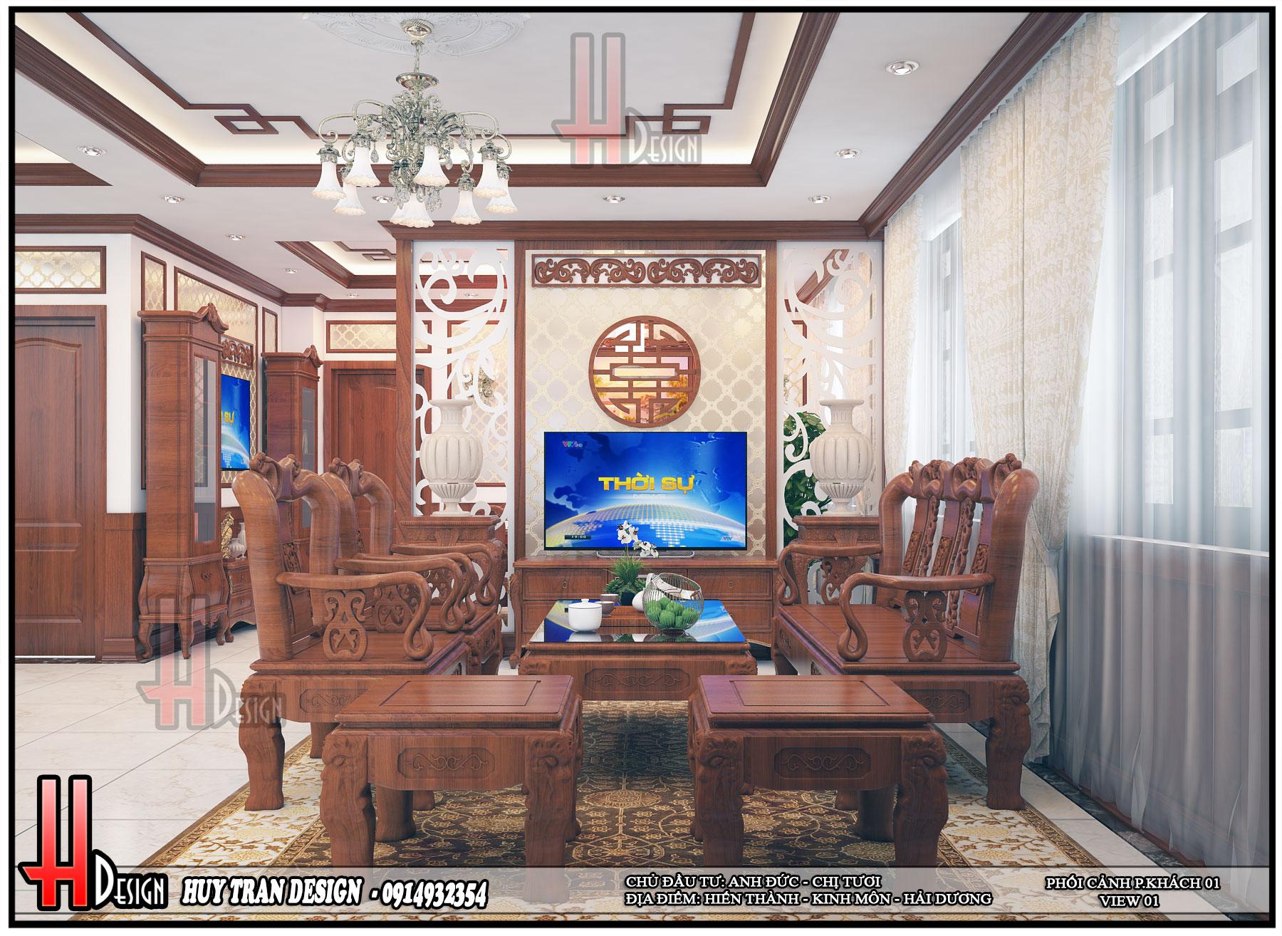 Mẫu thiết kế nhà ở anh Đức- chị Tươi
