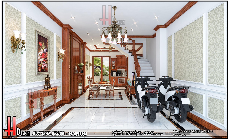 Mẫu thiết kế nhà ở anh Đông- chị Lưu