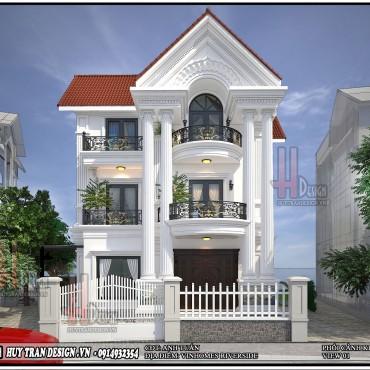 Mẫu thiết kế cải tạo biệt thự Anh Đào