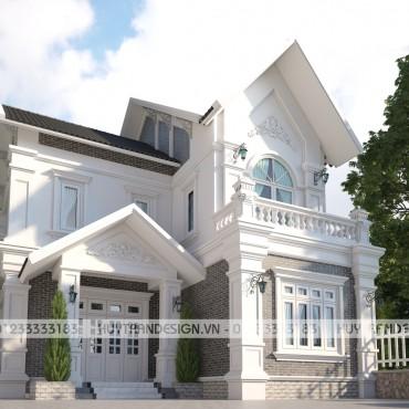 Mẫu thiết kế biệt thự tân cổ điển tại Nam Điền, Nam Định – Anh Tùng