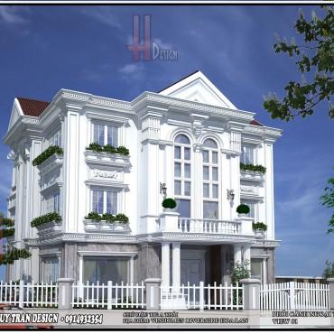 Mẫu thiết kế cải tạo nội ngoại thất Vinhomes Riverside - biệt thự Hoa Lan
