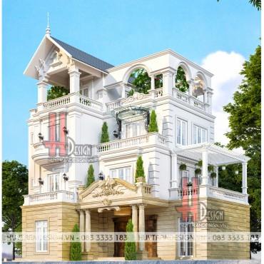 Mẫu nhà đẹp: Thiết kế dinh thự, biệt thự sân vườn độc đáo tại Hà Nội