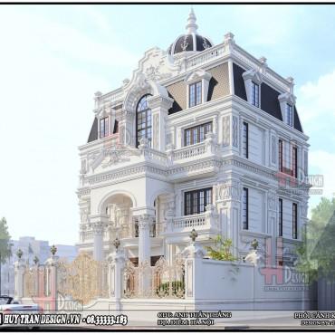 Mẫu thiết kế biệt thự tân cổ điển đẹp