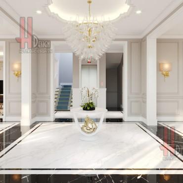 Cải tạo biệt thự Hoa Lan, Vinhomes Riverside: Mẫu nhà 3 tầng đẹp tại Long Biên, Hà Nội