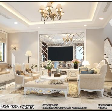 Ấn tượng với hình ảnh thiết kế biệt thự Vinhomes The Harmony Tân Cổ Điển