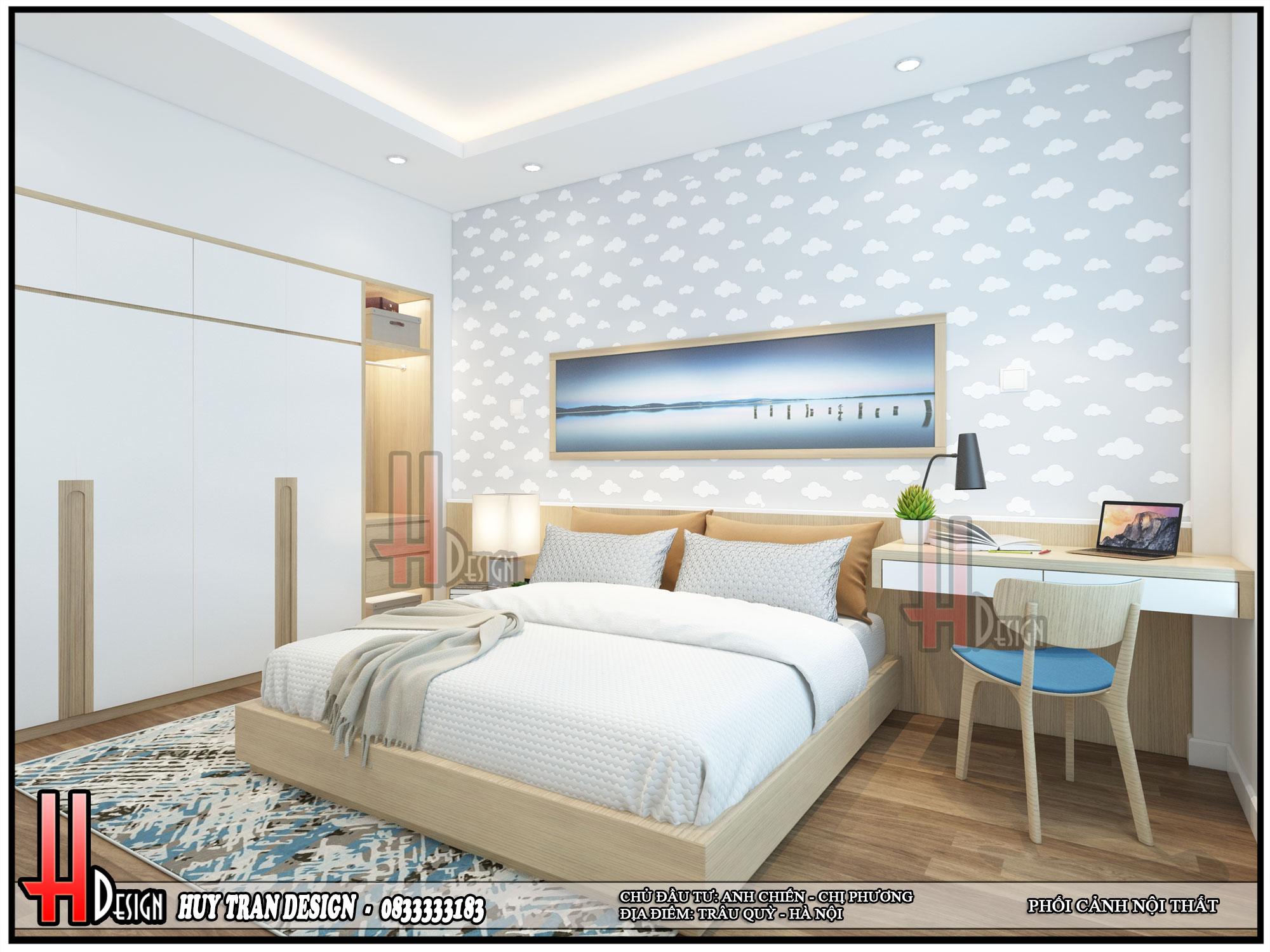 Mẫu thiết kế nội thất nhà phố sang trọng tinh tế