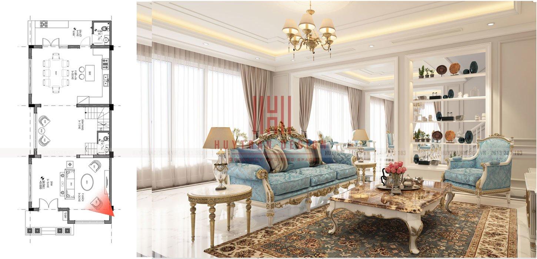 Thiết kế biệt thự vinhomes the HarmonyMẫu thiết kế biệt thự tân cổ điển