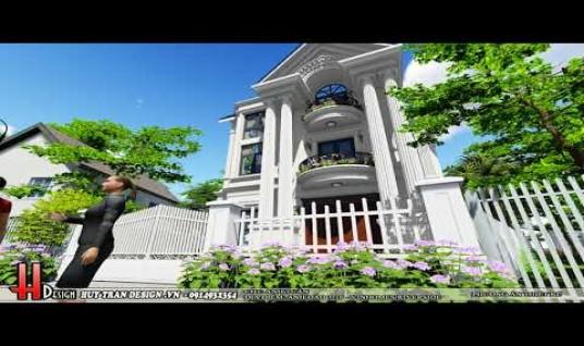 Mẫu thiết kế cải tạo biệt thự Vinhomes Riverside